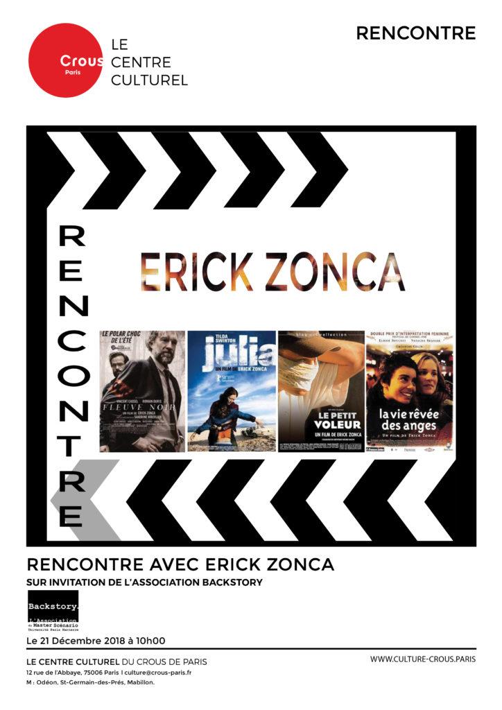 AFFICHE ErickZonca
