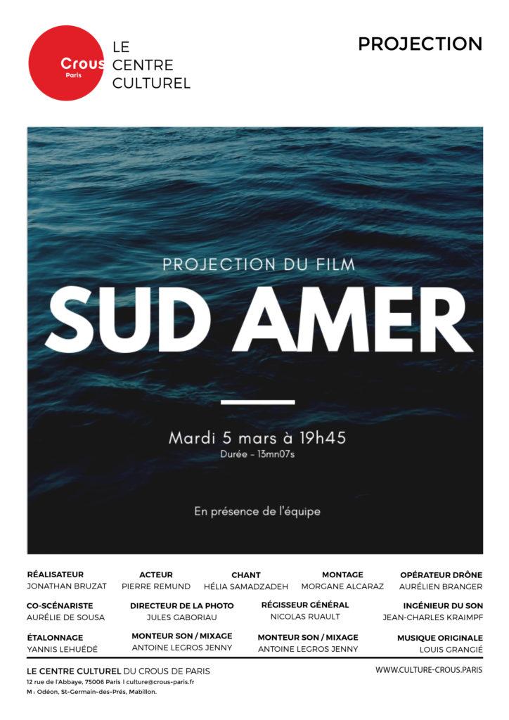 AFFICHE SudAmer5.03.2019