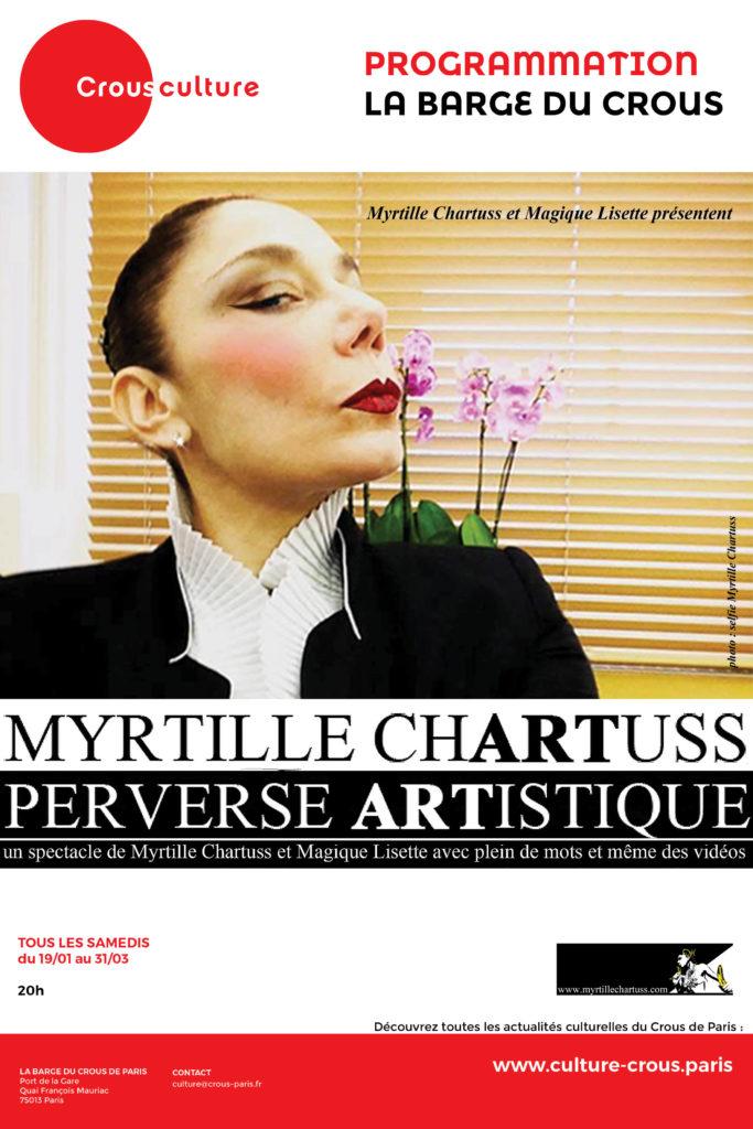 Affiche Myrtille Chartuss Barge du Crous_sans tarifs