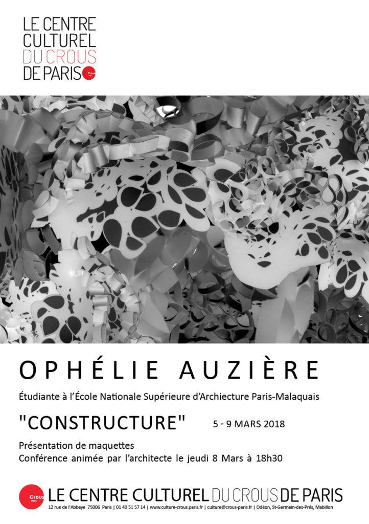 Affiche a5 Ophélie Auzière