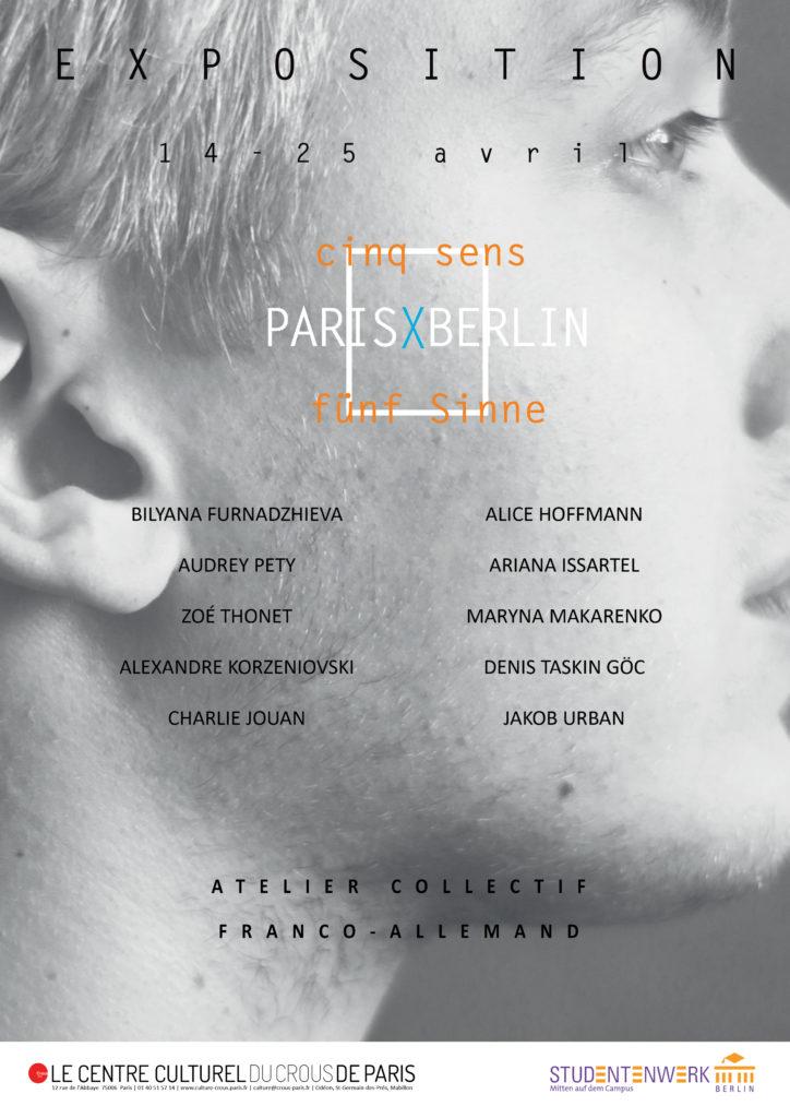 affiche exposition ParisXBerlin-nom