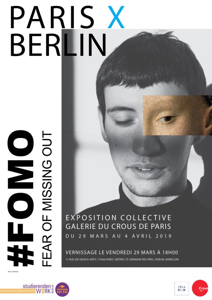 afficheExpositionParis X Berlin-Mars