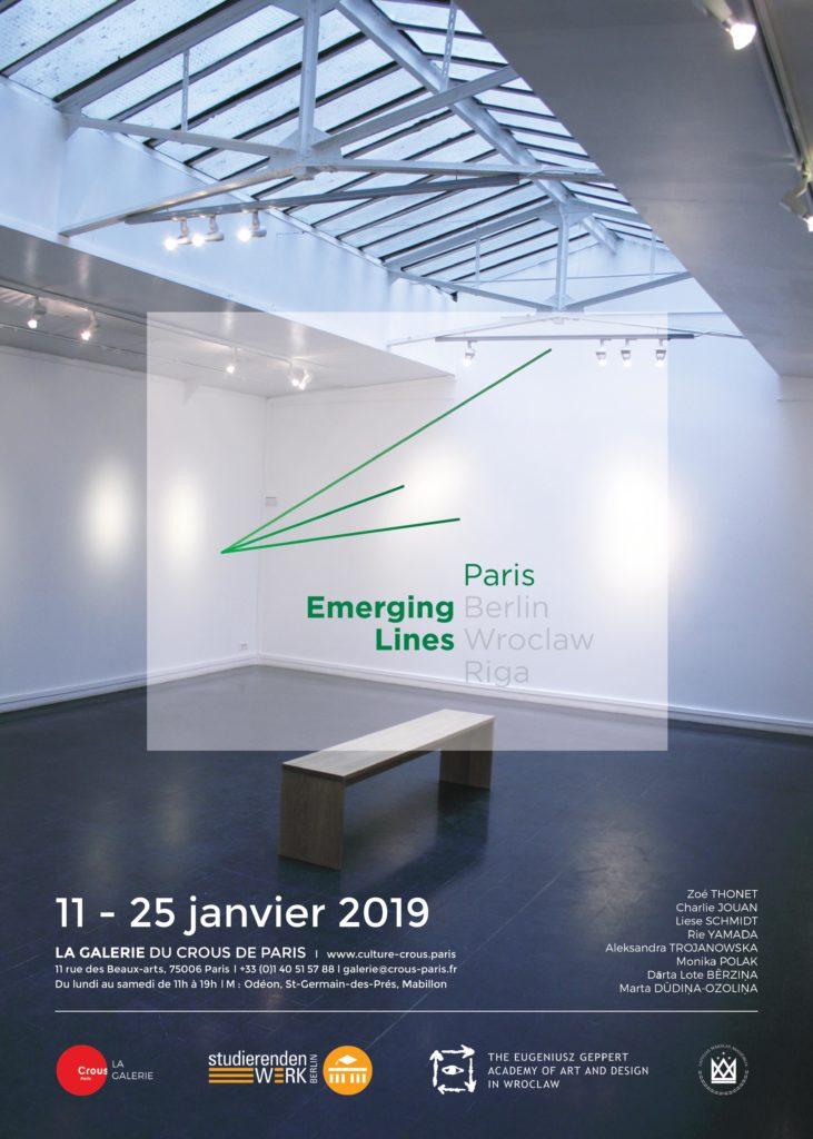 POSTER EMERGING LINES PARIS #1