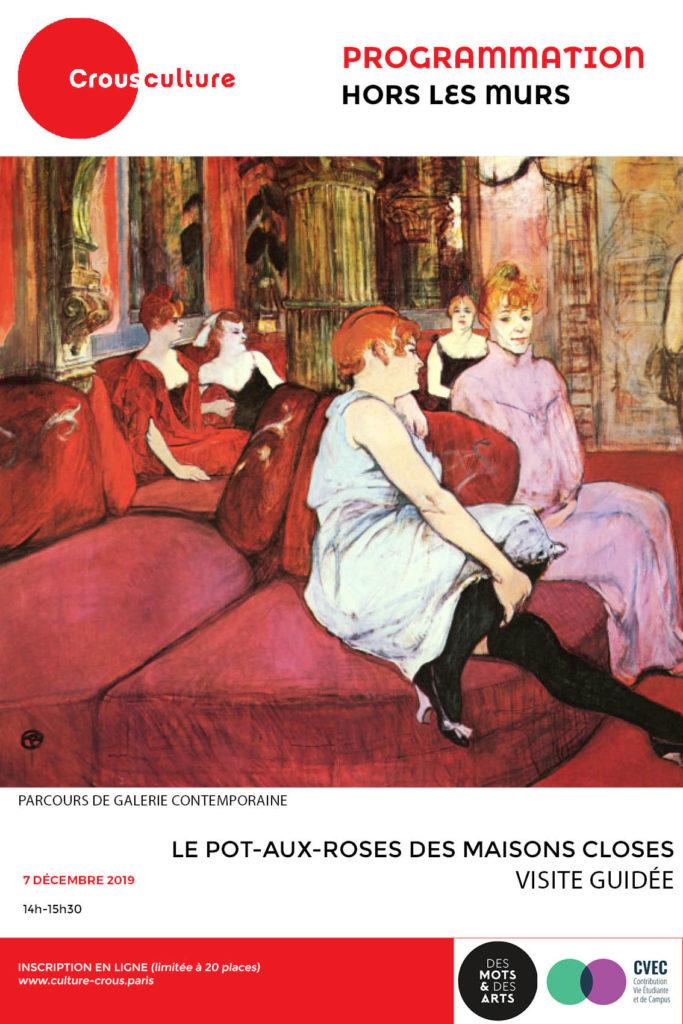 Affiche Maison Close
